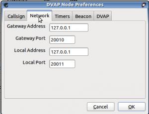 Rede, você pode deixar as configurações como estão.